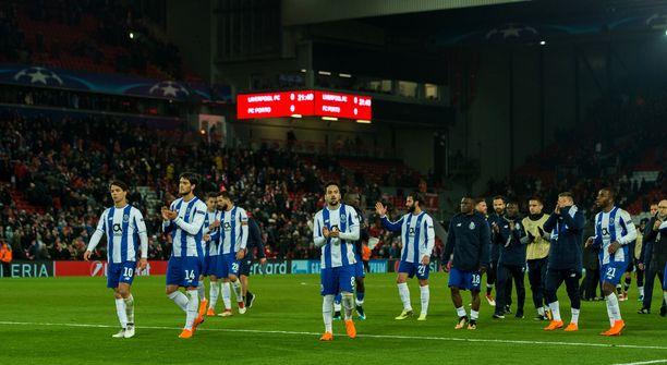 Porto-pelaajien mieltä painaa tämä viime vuonna kärsitty 0-5-yhteismaalitappio Liverpoolille.