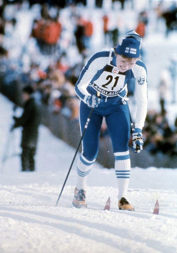 Helena Takalon vauhdikas tyylinäyte Innsbruckin olympialaduilta.