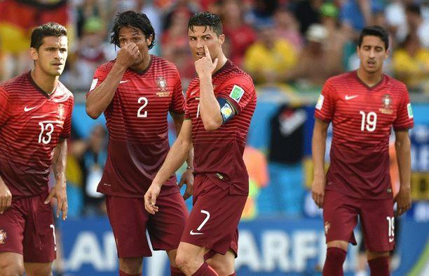 Portugali koko jättimäisen pettymyksen ensimmäisessä alkulohko-ottelussaan.