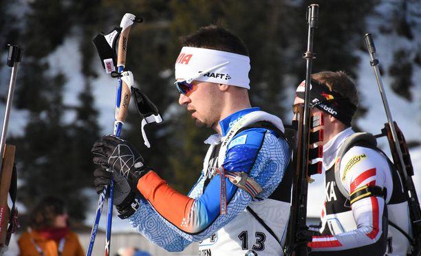 Olli Hiidensalo toimi Suomen ankkurina sekaviestissä. Suomi oli kisan kymmenes.