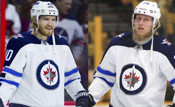 Joel Armia (vas.) jätti kaupan yhteydessä Winnipeg Jetsin. Se harmittaa Patrik Lainetta.