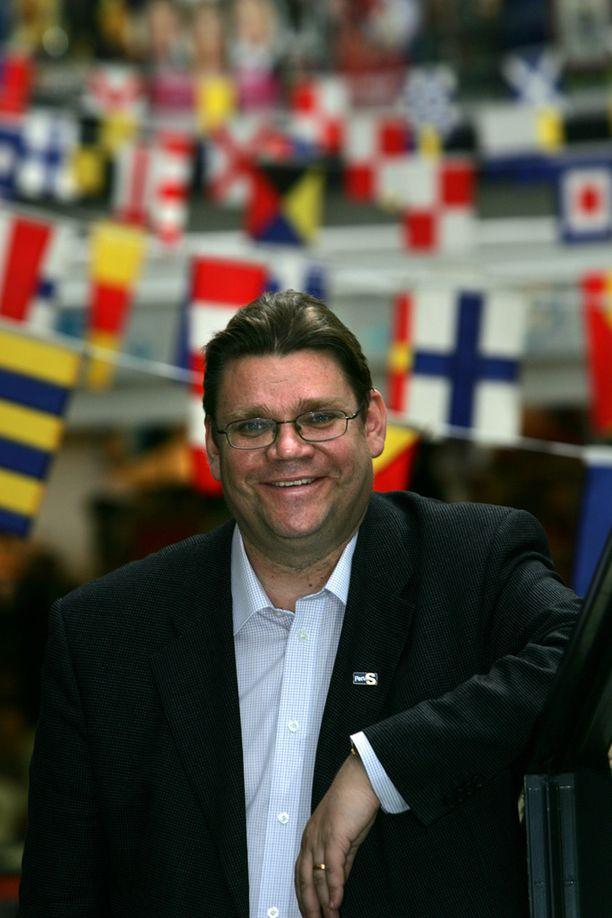 Hymy oli herkässä vuonna 2005 Lippulaivan kauppakeskuksessa.