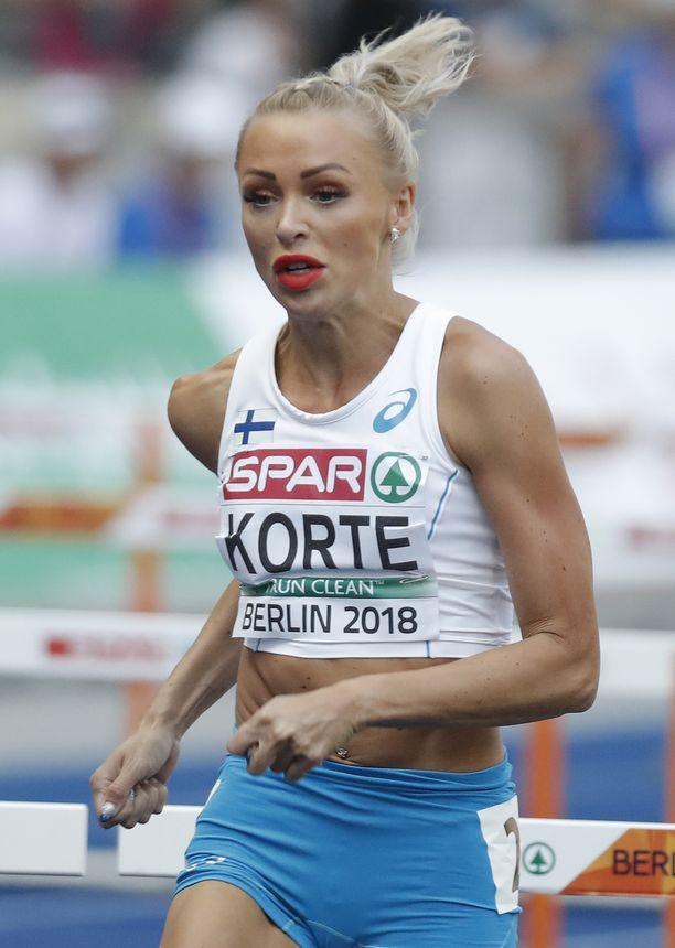 Annimari Korte edusti Suomea kesällä Berliinin EM-kisoissa.
