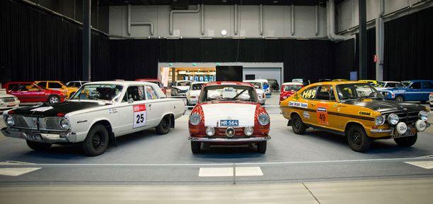 60-lukua: Plymouth Valiant, Volkswagen 1500 S, Opel Kadett