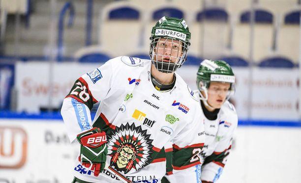Ruotsin Rasmus Dahlin on kovaa valuuttaa NHL-draftissa.