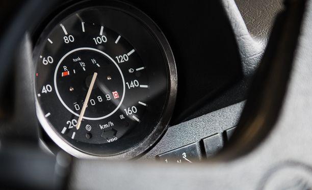 Auton ainoa omistaja kerkisi ajaa Kuplallaan hieman alle 90 kilometriä.