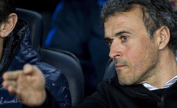 Luis Enrique lähtee Barcelonasta.