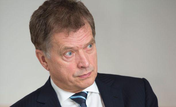 Presidentti Sauli Niinistö on entinen Palloliiton puheenjohtaja.
