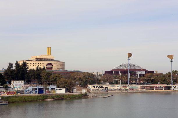 Sevillan maailmannäyttelyalue vuonna 2015.
