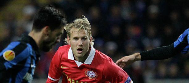 Ola Toivonen kohtasi viime viikolla Eurooppa-liigassa Odessan.