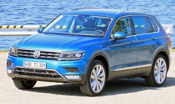 20. Volkswagen Tiguan kasvoi suoralinjaisemmaksi.