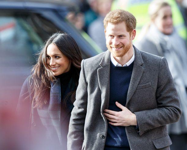 Meghan Markle ja prinssi Harry vierailivat tiistaina Edinburghissa.