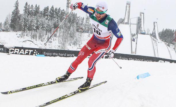 Petter Northug on sprintin ja viidenkympin hallitseva maailmanmestari.