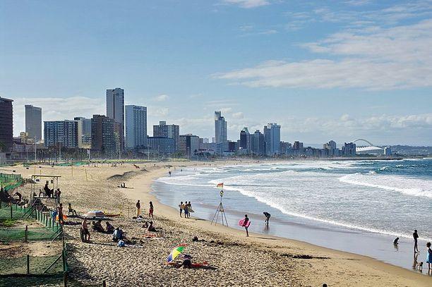 Durban on Etelä-Afrikan kolmanneksi suurin kaupunki.