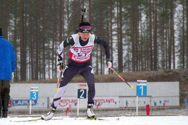 Kaisa Mäkäräinen voitti molemmat Kontiolahden kilpailut.