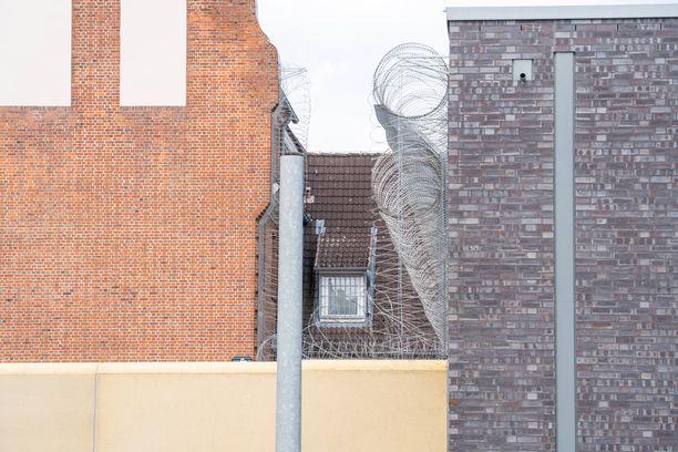 Christian Brücknerin raiskaustuomio pysyy voimassa. Kuvituskuva saksalaisvankilasta, jossa hän tulee istumaan tuomionsa.