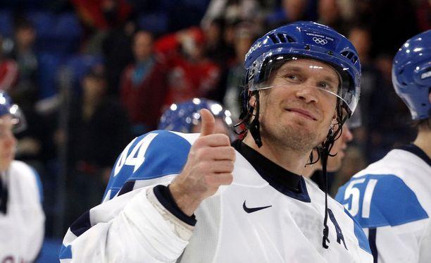 Kimmo Timonen edusti Suomea olympialaisissa yhteensä viisi kertaa.