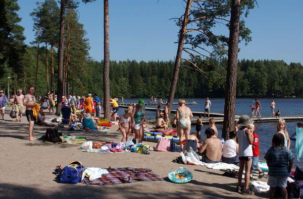 Arkistokuva Vantaan Kuusijärveltä.