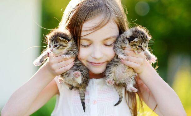 Lemmikkieläimestä huolehtiminen opettaa lapselle monia asioita, jotka tulevat tutuksi myös vanhemmuudessa.