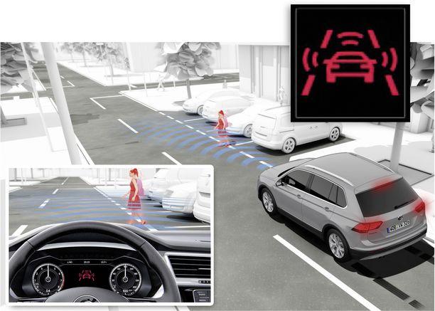 Hätäjarrutusjärjestelmä on jo nyt useimmissa autoissa varusteena. Pian se on pakollinen.