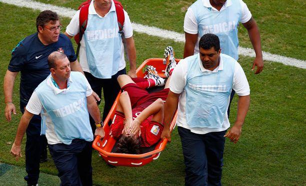 Fabio Coentraon MM-turnaus kesti 62 minuuttia.