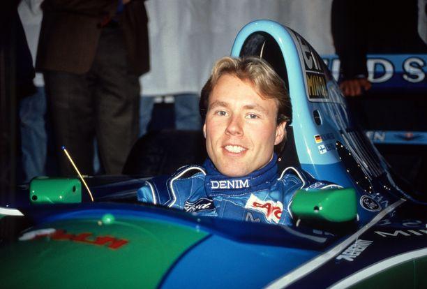 Jyrki Järvilehto sai unelmasopimuksen Benettonille alkuvuonna 1994.