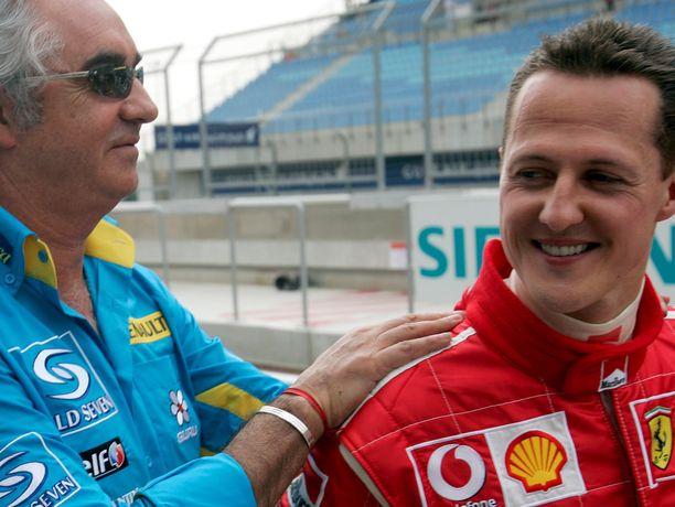 Michael Schumacherilla ja Flavio Briatorella on pitkä yhteinen historia.
