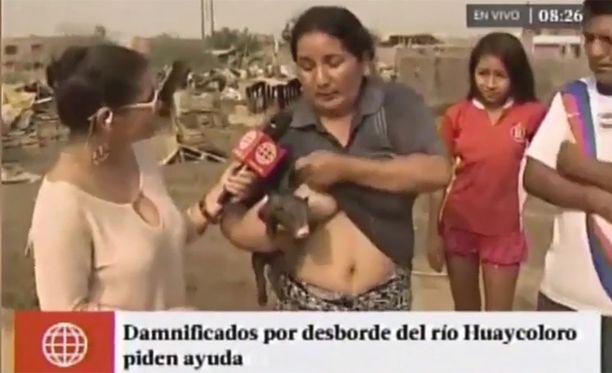 Suoran raportin aiheena oli viimeaikaiset tulvat Liman laitamilla.