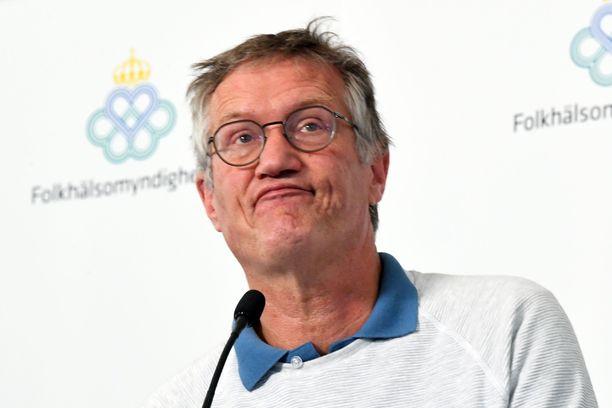 valtion epidemiologi Anders Tegnell on saanut viime aikoina kritiikkiä Ruotsin linjasta koronarajoituksiin. Kuva otettu 9.6.2020.