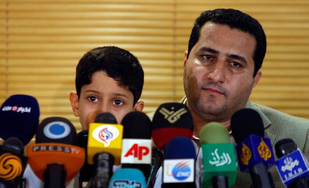 Shahram Amirin sai sankarin vastaanoton vuonna palattuaan Iraniin vuonna 2010.
