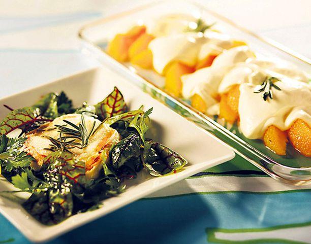 Rosmariini maustaa yhtä sujuvasti niin vuohenjuustosalaatin kuin sabayonen.