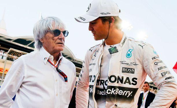 Bernie Ecclestone ja Nico Rosberg välit eivät olleet parhaat mahdolliset.