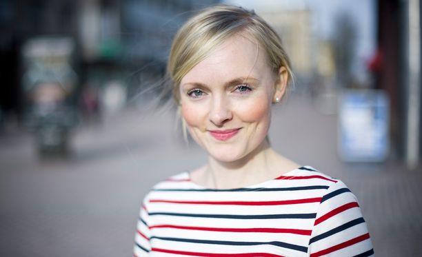 Maria Ohisalo on vihreiden varapuheenjohtaja.
