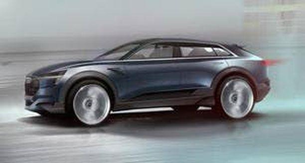 Sähkö-Audi rullaa yhdellä latauksella yli 500 kilometriä.