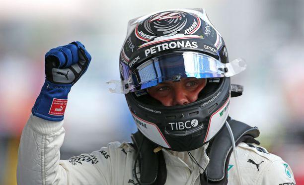 Valtteri Bottas valloitti uransa toisen paalupaikkansa.