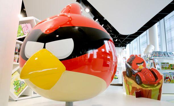 Angry Birds -peleillä ja tuotteilla tunnetuksi tullut Rovio vähentää väkeä.