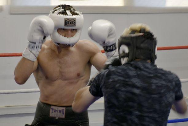Tatli on treenannut täysillä viimeiset seitsemän viikkoa.