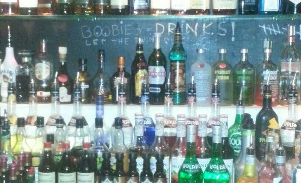"""""""Boobies = drinks"""" -lupaus ei pätenyt oululaisravintolassa."""