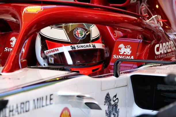 Kimi Räikkönen oli molemmissa perjantaitreeneissä kuudenneksi nopein.