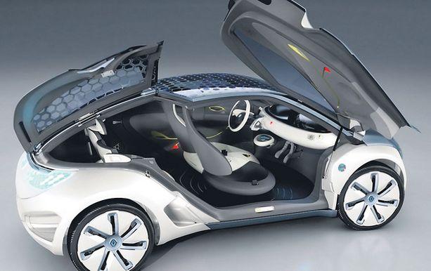Aromaterapiaa ja autoilua, siinä ovat tulevaisuuden auton ominaisuudet.