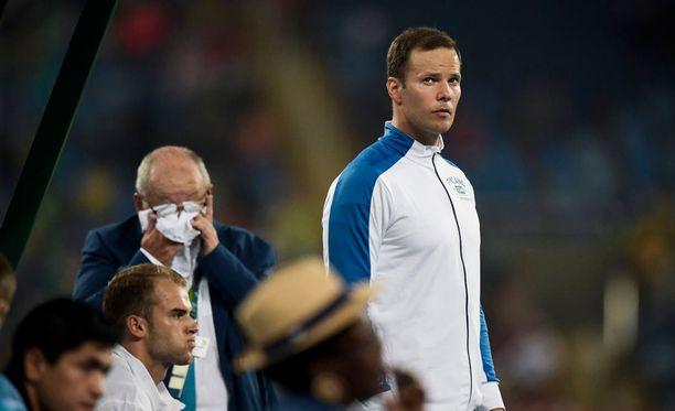 Tero Pitkämäki jäi Rion olympiakisojen karsintaan.