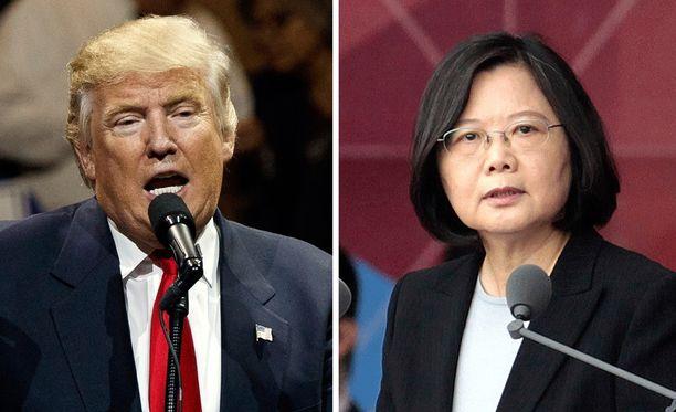 Trumpin ja Tsain viimeviikkoinen puhelu oli ennenkuulumaton. Trumpin mukaan Tsai soitti hänelle.