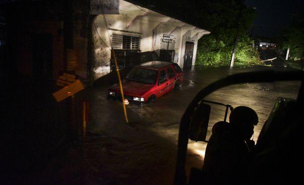 Irma iski Puerto Ricoon myöhemmin keskiviikkona.