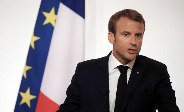 Presidentti Macron saapuu tällä viikolla valtiovierailulle Suomeen.