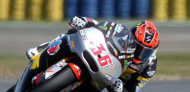 Mika Kallio voitti kaksi Moto2-luokan osakilpailua peräkkäin.