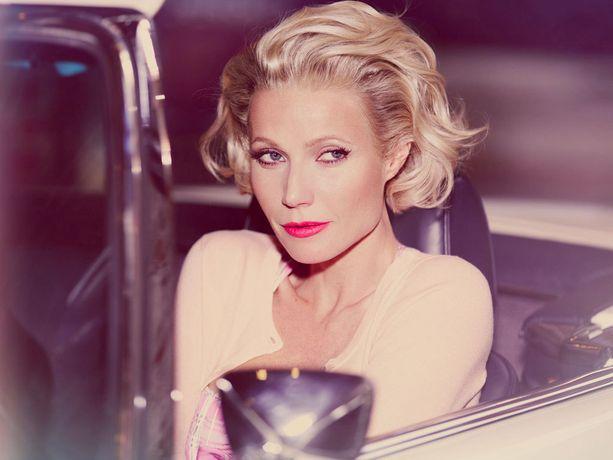 Viime Vuonna Gwyneth Paltrow stailattiin moderniksi Marilyniksi.