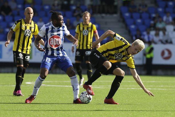HJK ja FC Honka pelasivat tasapelin.
