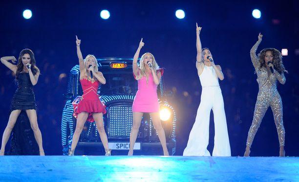 Spice Girls nähtiin viimeksi kaikkien viiden voimin Lontoon olympialaisten ohjelmanumerossa vuonna 2012.