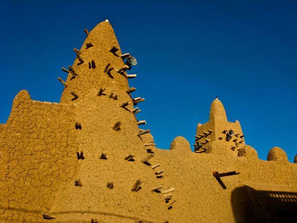 Timbuktun moskeijat kärsivät ilmaston muuttumisesta.