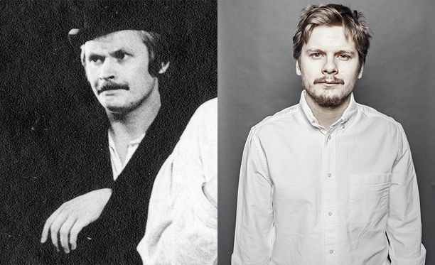 Heikki Kinnunen 1970-luvulla Seitsemässä veljeksessä ja Paavo Kinnunen 2010-luvulla Seitsemässä veljeksessä.